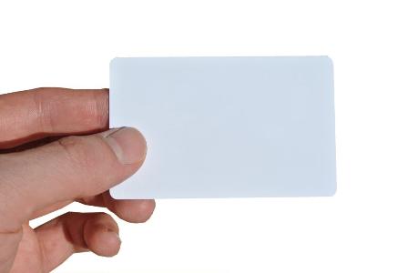 Zugangskarte EC weiß